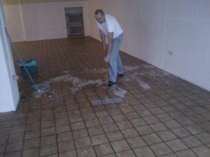 Gründliche Reinigung
