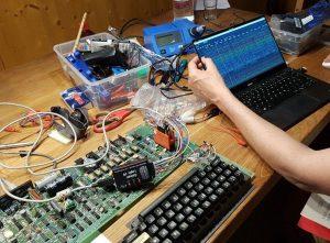 Anzeige der Messdaten au dem angeschlossenen PC