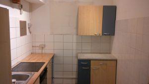 Küche fertig eingebaut