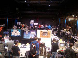 Überblick über das VCFe mit den Ausstellungen.