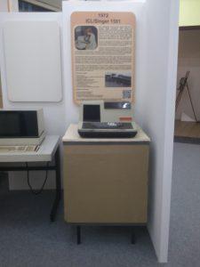 Aufbau des Einzeltisches in mit dem Cogar C4 Terminalrechner