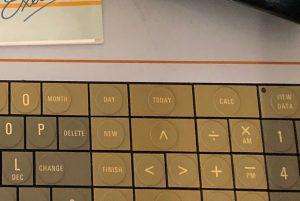 Ausschnitt aus einem Bild von einer ungewöhnlichen Tastatur